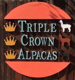Triple Crown Alpacas - Logo