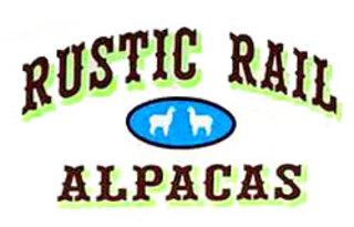 Rustic Rail Alpacas - Logo