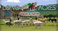 Long Acres Alpaca Farm - Logo