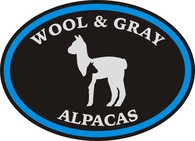 Wool & Gray Alpacas - Logo