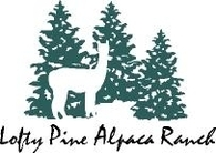 Lofty Pine Alpacas and Llamas - Logo