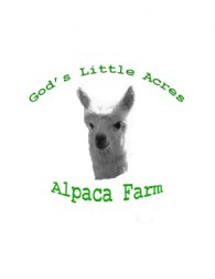 God's Little Acres Alpaca Farm - Logo