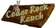 Cedar Rock Ranch - Logo