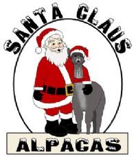 Santa Claus Alpacas - Logo