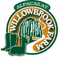 Alpacas at Willowbrook Farm - Logo