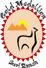 Gold Medallion Ranch Suri Alpacas - Logo