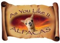 As You Like It Alpacas - Logo