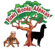 Picnic Woods Alpacas - Logo