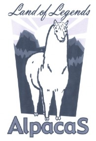 Land of Legends Alpacas - Logo