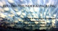 Rolling Thunder Alpacas Inc. - Logo