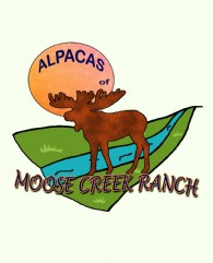 ALPACAS OF MOOSE CREEK RANCH - Logo
