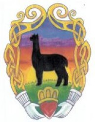 Claddagh Farm Alpacas - Logo