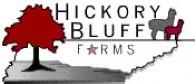 Hickory Bluff Farms - Logo