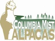 Columbia Mist Alpacas - Logo