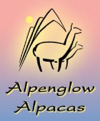 Alpenglow Alpacas - Logo