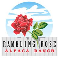 Rambling Rose Alpaca Ranch - Logo