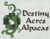 Destiny Acres Alpacas - Logo