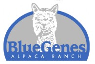 BlueGenes Alpaca Ranch - Logo