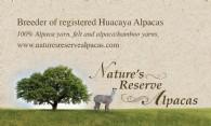 Nature's Reserve Alpacas - Logo