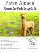 Photo of Alpaca (Custom) Needle Felting Kit