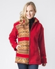 Red Cusco Alpaca Jacket