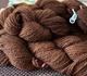 Brown suri yarn