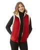 red vest in large on stock